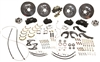 CPP 1955-57 Chevy Complete Front/Rear Big Brake Kits