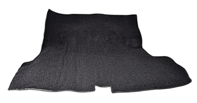 1955-1957 Chevy Carpeted Trunk Mat, Black Loop