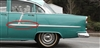 Danchuk 1955 Chevy Bel Air Side Moulding, Rear Door, Driver Side, 4-Door Sedan and Wagon
