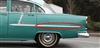 Danchuk 1955 Chevy Bel Air Side Moulding, Quarter Panel, Driver Side, 4-Door Sedan and Wagon (OS)