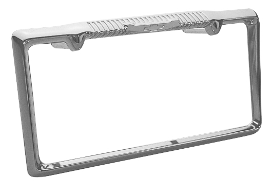 Danchuk License Plate Frame for your Tri-Five 1957 Chevy from ...