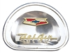 Danchuk 1957 Chevy Horn Cap Emblem, Bel Air