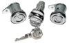 1955-1957 Chevy Door and Ignition Lock Set, Flat Pawl
