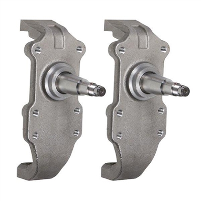 "1955-57 Chevy Heidts 2"" Drop Spindles for Wilwood Brakes (OS)"