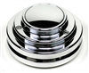 1955-57 Chevy Ididit Polished Aluminum 9-Bolt Steering Wheel Adapter