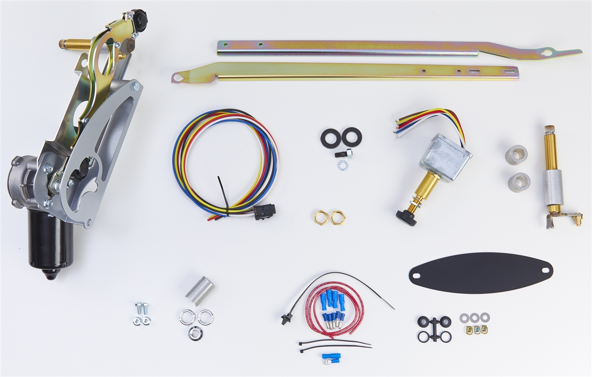RainGear Wiper System 2-Sd with Delay - 1955-56 Chevy on