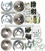 "Right Stuff 4 Wheel Disc Brake Conversion Kit for 15""+ Wheels - Stock Height"