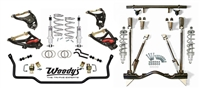 1955-57 Chevy Woody's Hot Rodz 4-Corner Coilover Suspension Package