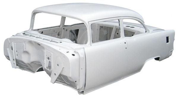 Woodys Hot Rodz Body Shell 1955 Chevy Sedan 2 Door