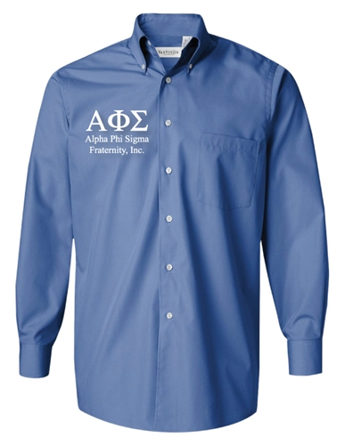 7981a0bb Custom Fraternity Dress Shirt