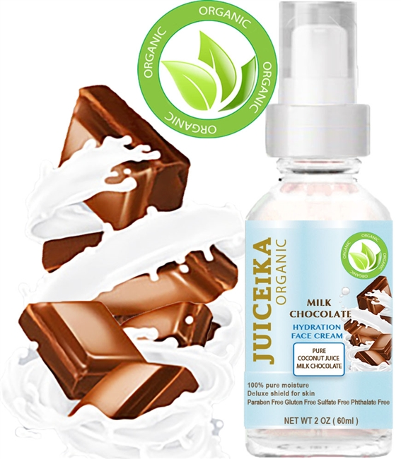 Juiceika milk chocolate hydration face cream