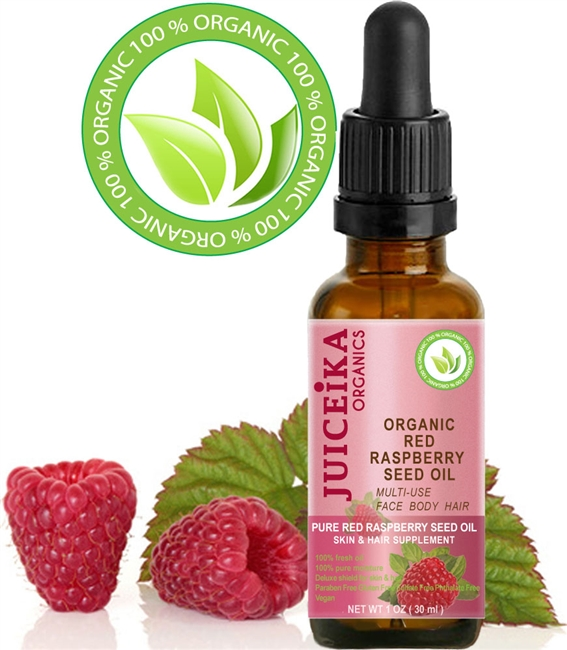 JUICEIKA ORGANIC RED RASPBERRY OIL