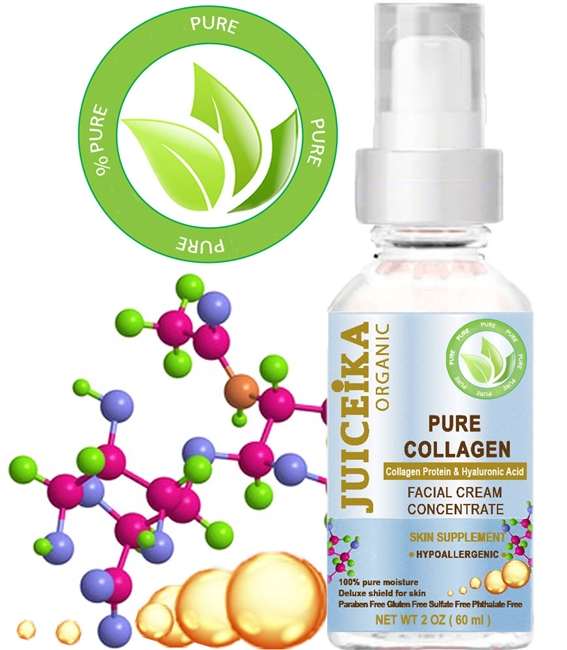 JUICEIKA PURE COLLAGEN FACIAL CREAM Concentrate