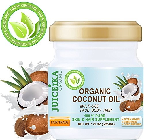JUICEIKA PURE ORGANIC COCONUT OIL FAIR TRADE