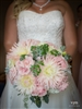 Pale Pink Dahlia Wedding