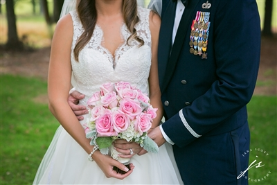 Pink and Lavender Wedding
