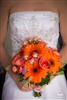 Orange and Green Wedding