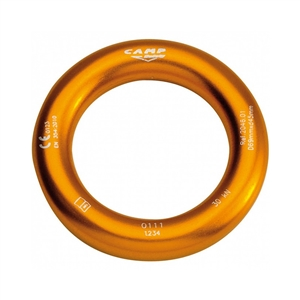 CAMP Aluminum Rappel Ring - 45mm - Orange