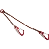 Camp Dynatwo Lanyard 40cm and 70Cm with two Hercules carabiners