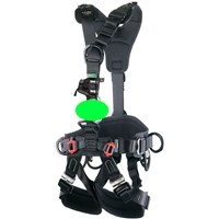 CAMP GT ANSI Black HARNESS WITH OPG TURBO CHEST KIT