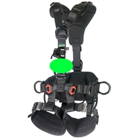 CAMP ACCESS ANSI Fullbody Rope Access Harness WITH OPG TURBO CHEST KIT Black Small - Large