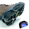 Snowline Mountaineering Boot Stud Snow Ice Spikes Chainsen Pro XLarge Gray