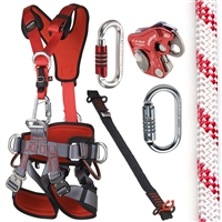 CAMP GT ANSI Fullbody Fall Arrest Kit with 150ft Of Rope