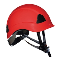 ProClimb Gem Work and Rescue ANSI Red Helmet