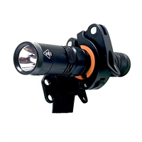 OPG 1800 Lumen Helmet Side Mount Flashlight Kit