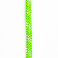 OPG static kernmantle rescue rapelling rope 11mm x 600feet Lime Green UL ANSI NFPA USA