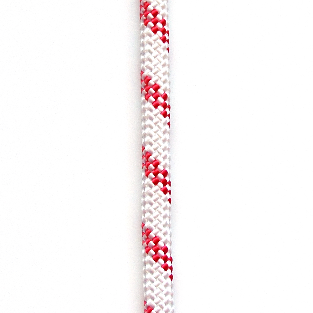 Opg Static Kernmantle Rescue Rapelling Rope 12 5mm X 200feet White Red Ul Ansi Nfpa Usa Omniprogear Com