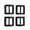 1 Inch Tubular Webbing Buckle 4 Pack