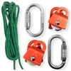 zRig Rope Haul System 2to1 & 3to1 Mechanical Advantages with Progress Capture