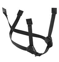 DUAL chinstrap for VERTEX and STRATO helmets BLACK PA0550B