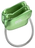 Petzl VERSO lightweight belay rappel device GREEN