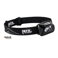 Petzl ACTIK CORE Black Rechargeable headlamp 450 lumens