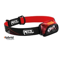Petzl ACTIK CORE Red Rechargeable headlamp 450 lumens