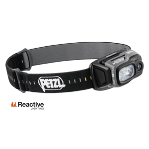 Petzl SWIFT RL PRO USB rechargeable headlamp 900 lumens Reactive Lighting