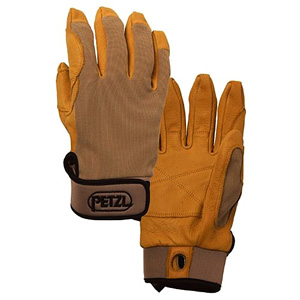 Petzl CORDEX belay/rap glove Tan S