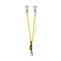Petzl ABSORBICA-Y ANSI 150 cm with absorber and 2 EASHOOKs   ALL REPLACEABLE PARTS