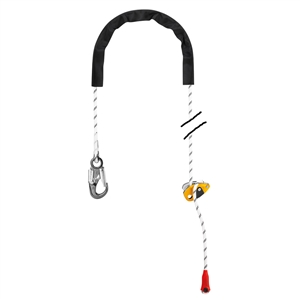 Petzl GRILLON hook 4 meter 13.1 feet with HOOK connector