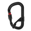 Petzl VULCAN SCREWLOCK H-Frame Black carabiner with Captiv