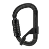 Petzl VULCAN TRIACT-LOCK H-Frame Black carabiner with Captiv