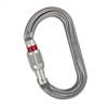 Petzl OK H-frame carabiner oval SCREW-LOCK
