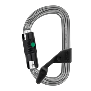 Petzl AMD H-frame BALL-LOCK carabiner with CAPTIV
