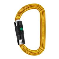Petzl AM'D H-frame BALL-LOCK Gold carabiner