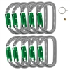 Petzl AM'D PIN-LOCK carabiner 10 pack