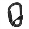 Petzl AMD H frame TRIACT LOCKING Black carabiner with CAPTIV