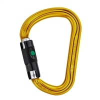 Petzl WILLIAM H-frame BALL-LOCK Gold carabiner