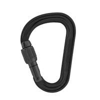 Petzl ATTACHE 3D SCREWLOCK carabiner, Black